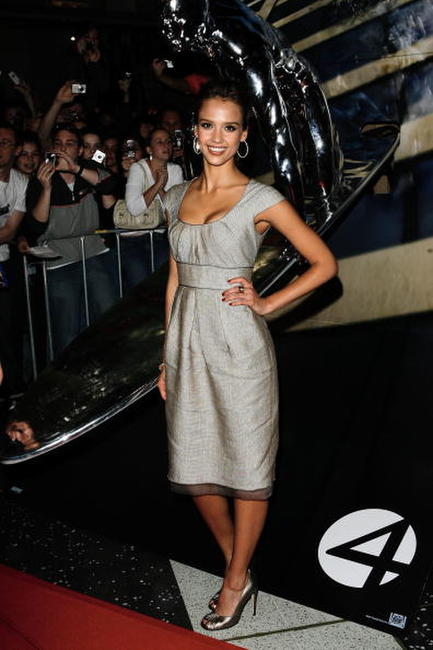 Jessica Alba at the V Max Cinema in Australia to promote