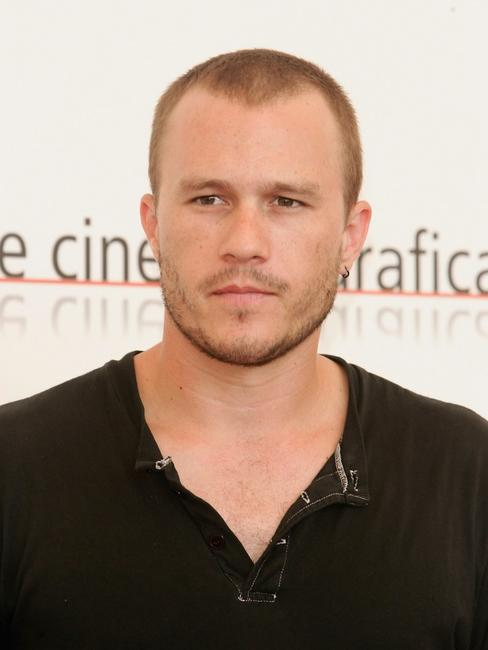 Heath Ledger at the photocall of