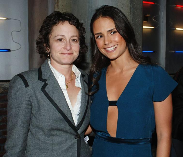 Nina Jacobson and Jordana Brewster at the premiere of