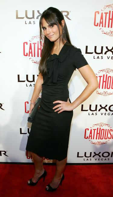 Jordana Brewster at the grand opening of