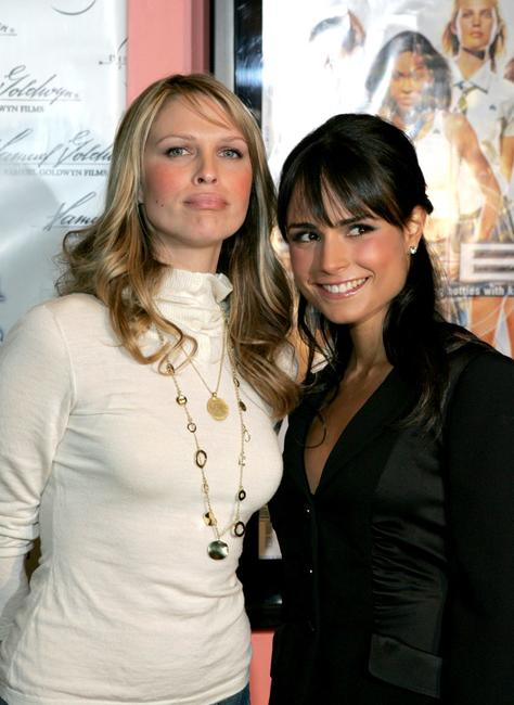 Sara Foster and Jordana Brewster at the premiere of