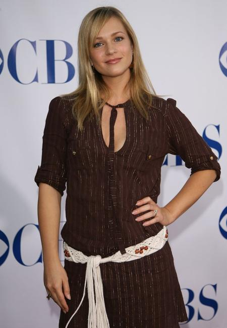 A.J. Cook at the CBS 2006 Summer TCA Party.