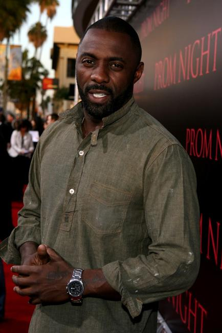 Idris Elba at the world premiere of
