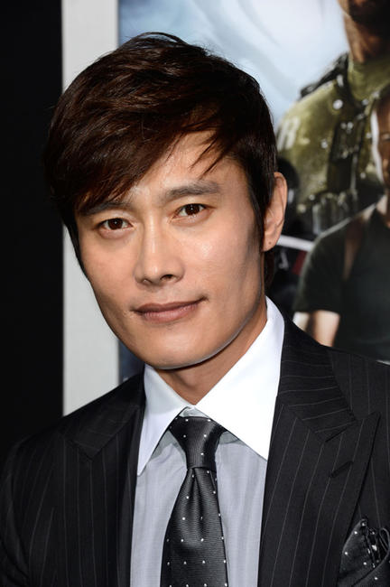 Lee Byung-hun at the California premiere of
