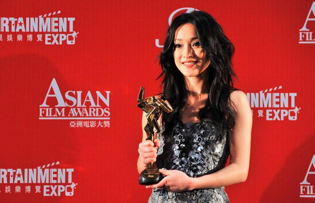 Zhou Xun at the Asian Film Awards 2009.