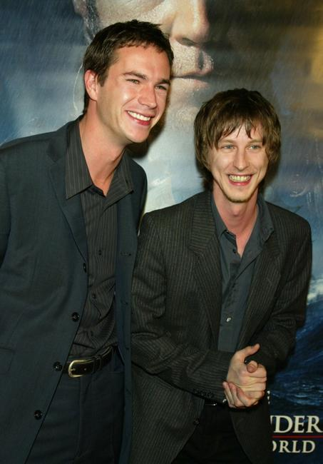 James D'Arcy and Lee Ingleby at the Los Angeles premiere of