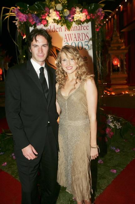 James D'Arcy and Lucy Punch at the 2005 Golden Kinnaree Awards during the Bangkok International Film Festival.