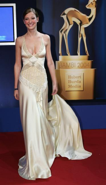 Alexandra Maria Lara at the Bambi Awards 2004.
