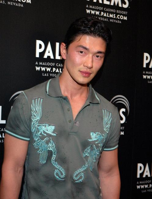 Rick Yune at the First Annual Fantasy Suite Block Party.