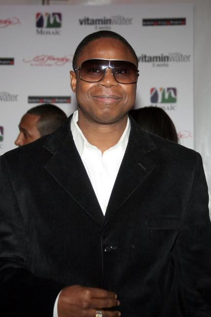Doug E. Fresh at the 25th birthday party celebration of Gilbert Arenas.