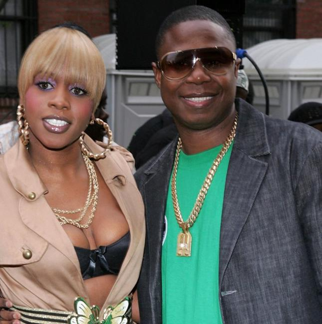 Remy Ma and Doug E. Fresh at the premiere of