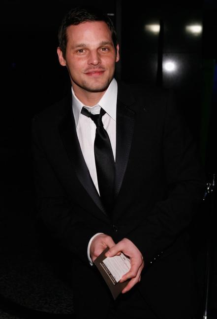 Justin Chambers at the Paramount Pictures/DreamWorks Pictures Official Golden Globes After Party.