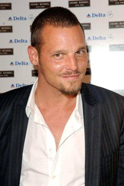 Justin Chambers at the Delta Jet-Set summer take off reception.
