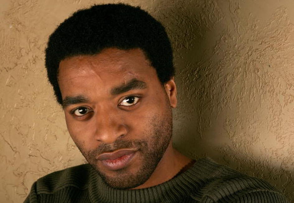 Chiwetel Ejiofor at a photo session for