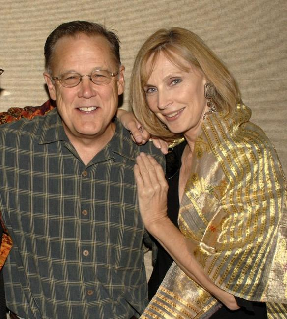 Dave Goelz and Cheryl Gates McFadden at the special 20th anniversary screening of