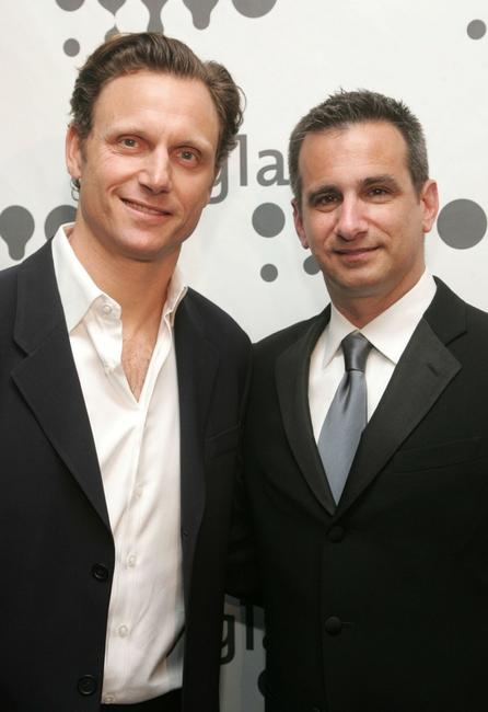 Tony Goldwyn and Neil Giuliano at the 18th annual GLAAD Media Awards at the Marriott Marquis Hotel.