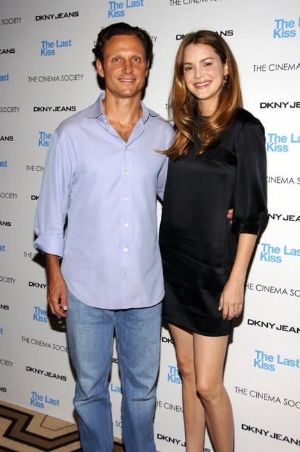 Tony Goldwyn and Jacinda Barrett at the Cinema Society and DKNY Jeans' screening of