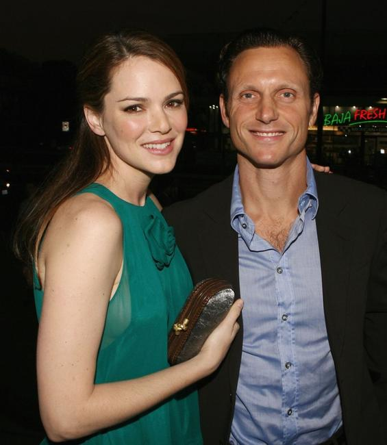 Tony Goldwyn and Jacinda Barrett at the premiere of