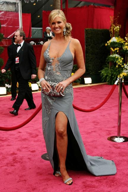 Nancy O'Dell at the 80th Annual Academy Awards.