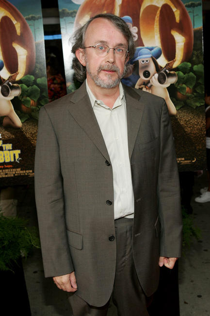 Peter Lord at the New York premiere of