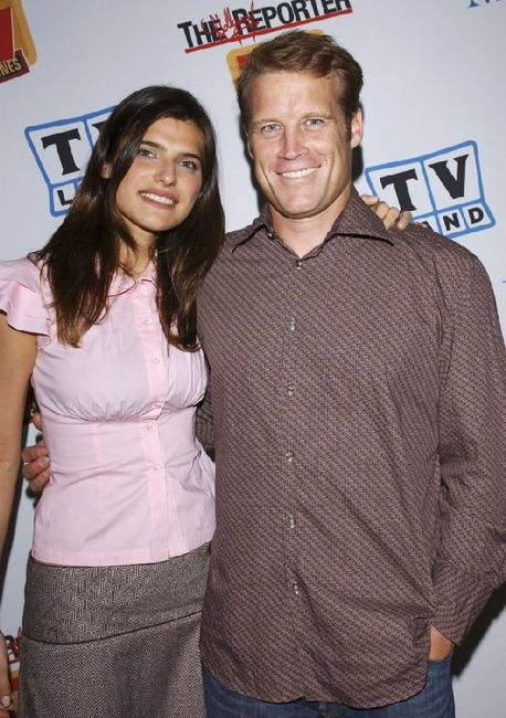 Lake Bell and Mark Valley at the Museum of Television and Radio Cocktail Party.
