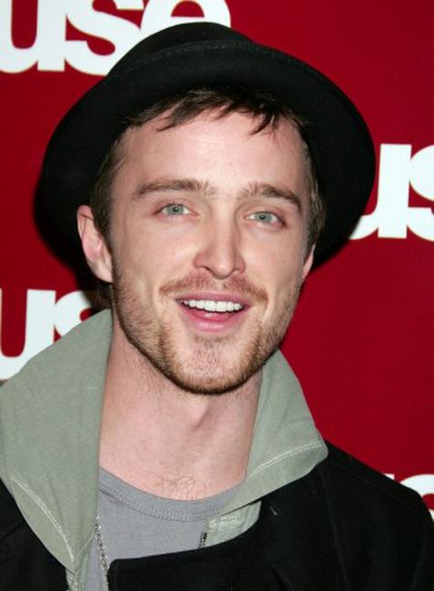 Aaron Paul at the Fuse TV's Grammy party.