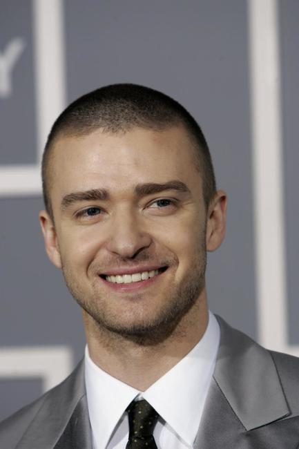 Justin Timberlake at the 49th Grammy Awards.
