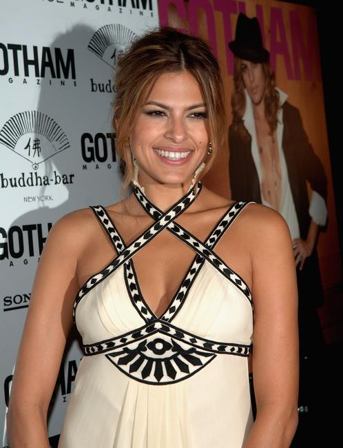 Eva Mendes at the Gotham Magazine Party.