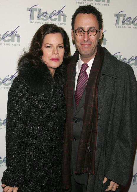Marcia Gay Harden and Tony Kushner at the Tisch School of the arts annual gala benefit.