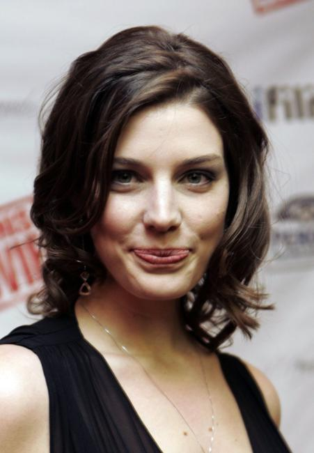 Jessica Pare at the premiere of