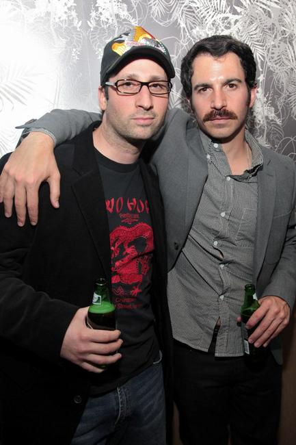 Craig Esposito and Chris Messina at the 2010 Tribeca Film Festival.