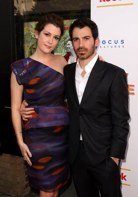 Melanie Lynskey and Chris Messina at New York screening of