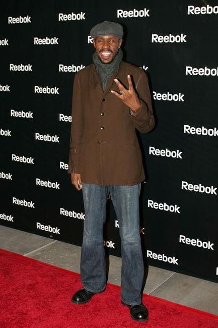 Wood Harris at the Reebok and Allen Iverson hosted party.