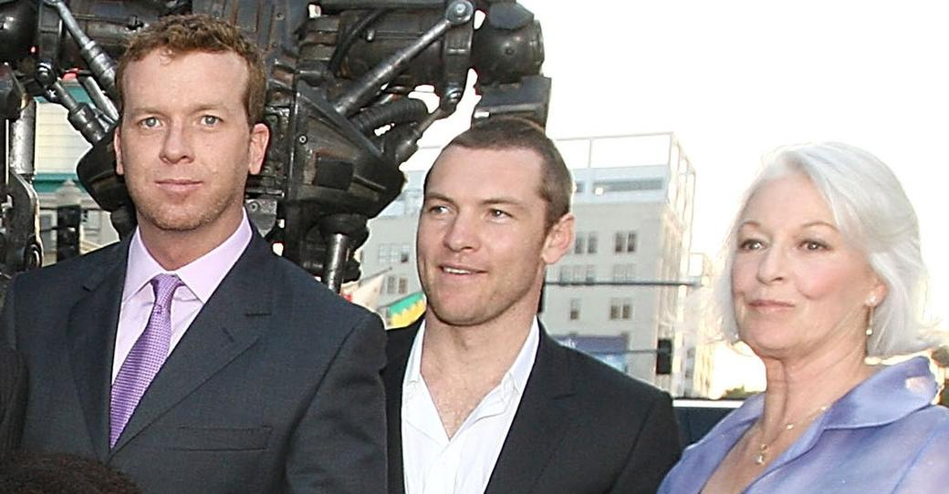 McG, Sam Worthington and Jane Alexander at the premiere of