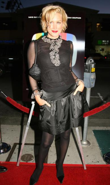 Alice Evans at the premiere of