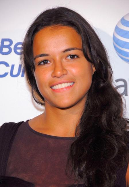 Michelle Rodriguez at the launch party of new BlackBerry Curve.