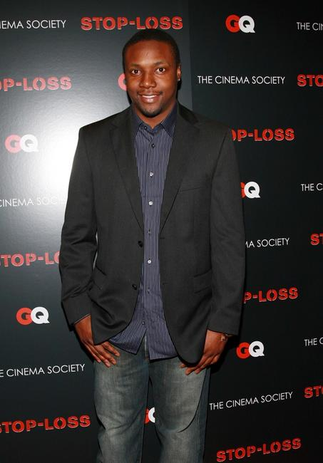 Rob Brown at the screening of