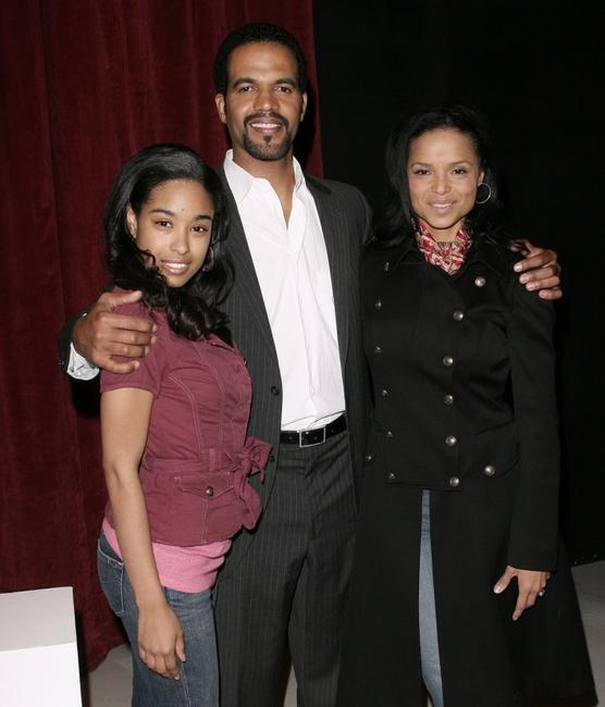 Davetta Sherwood, Kristoff St. John and Victoria Rowell at the