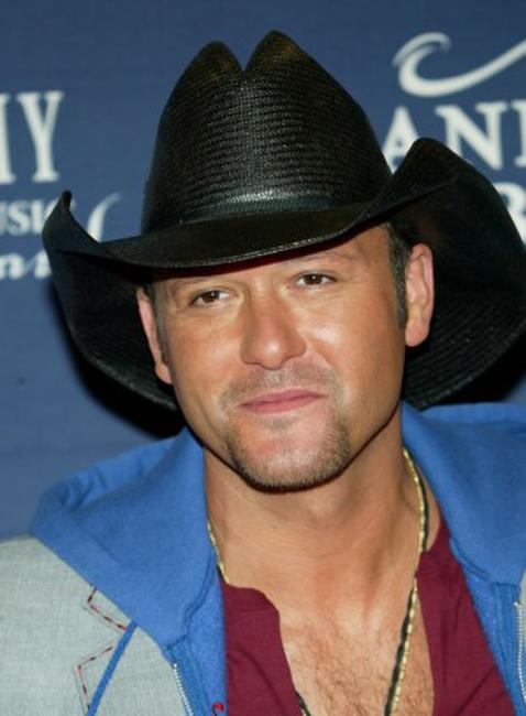 Tim McGraw at the 40th Annual Academy Country Music Awards.