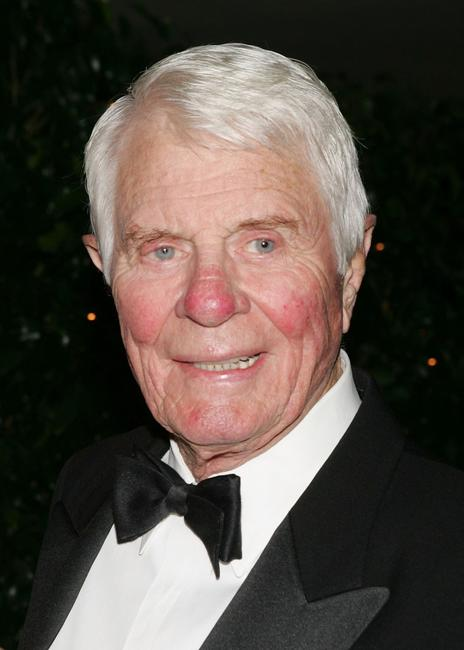 Peter Graves at the Thalians 50th Anniversary Gala at the Hyatt Regency Century Plaza Hotel.