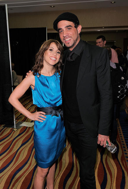 Elizabeth Rodriguez and Bobby Cannavale at the 65th Annual Tony Awards in New York.