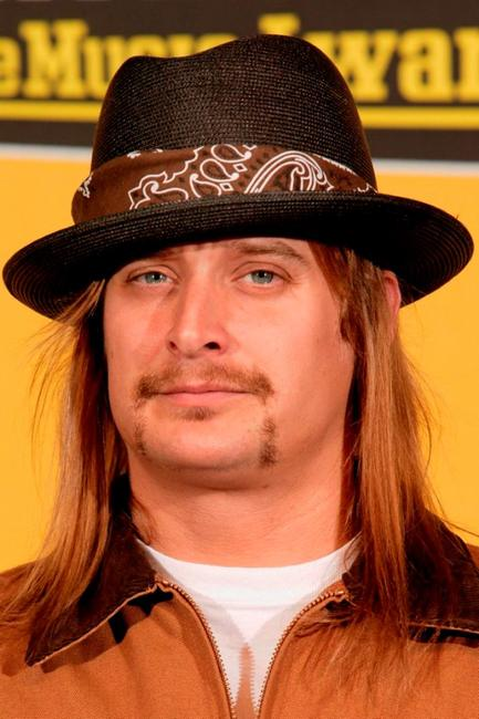 Kid Rock at the MTV Europe Music Awards 2004.