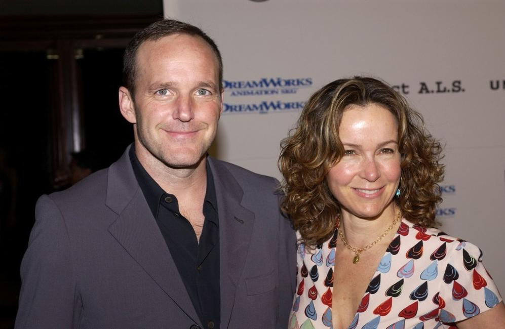 Clark Gregg and Jennifer Grey at the 5th Annual Project A.L.S. Benefit Gala.