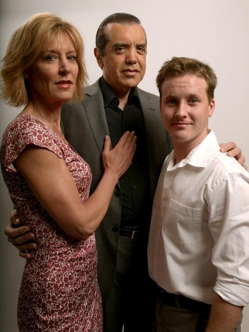 Christine Lahti, Chazz Palminteri and Tom Guiry at the 2008 Tribeca Film Festival.