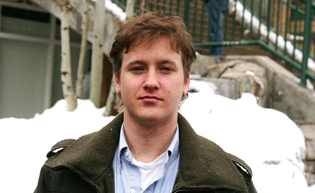 Tom Guiry at the 2006 Sundance Film Festival.