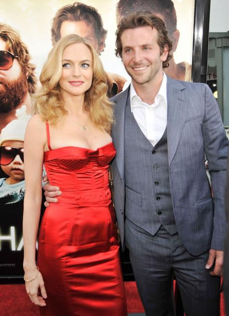 Heather Graham and Bradley Cooper at the premiere of