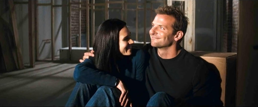 Jennifer Connelly as Janine and Bradley Cooper as Ben in