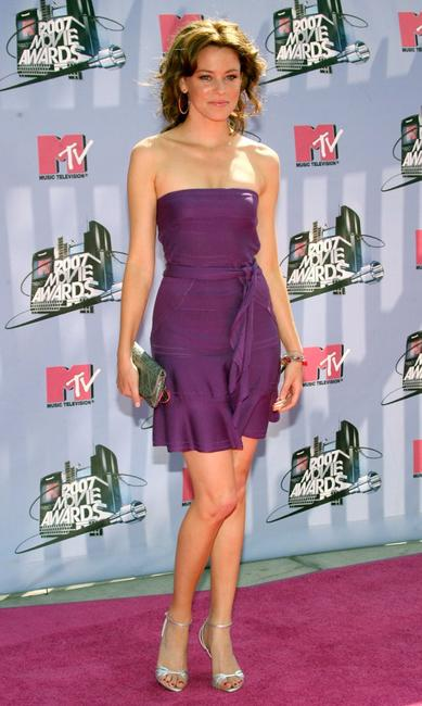 Elizabeth Banks at the 2007 MTV Movie Awards.