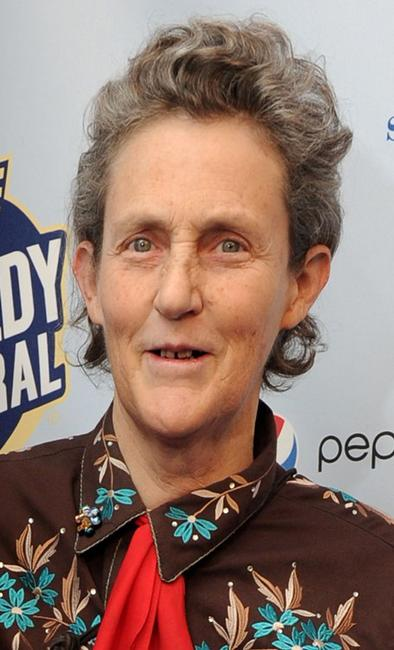 Temple Grandin at the Comedy Central's Night of Too Many Stars: An Overbooked Concert for Autism Education.