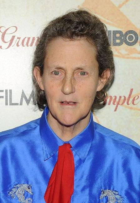 Temple Grandin at the premiere of
